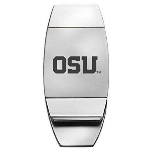 1145-OREGNST-L1-CLC: LXG MONEY CLIP, Oregon State
