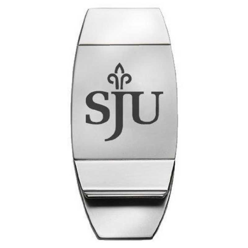 1145-STJOES-L1-CLC: LXG MONEY CLIP, Saint Josephs