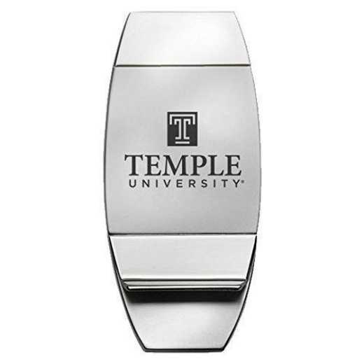 1145-TEMPLE-L1-CLC: LXG MONEY CLIP, Temple