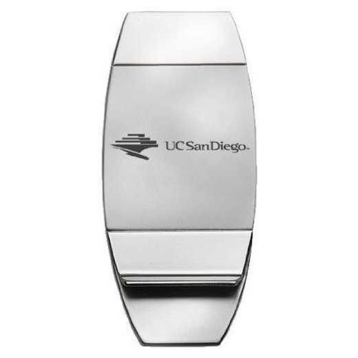1145-UCSD-L1-IND: LXG MONEY CLIP, UC San Diego