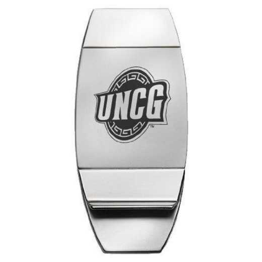 1145-UNCGREN-L1-CLC: LXG MONEY CLIP, UNC - Greensboro