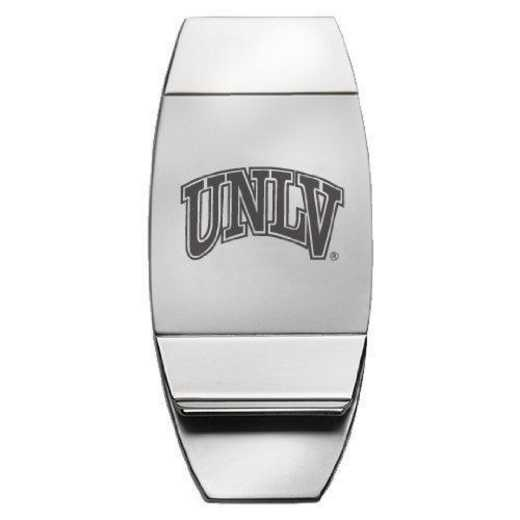 1145-UNLV-L1-LRG: LXG MONEY CLIP - UNLV