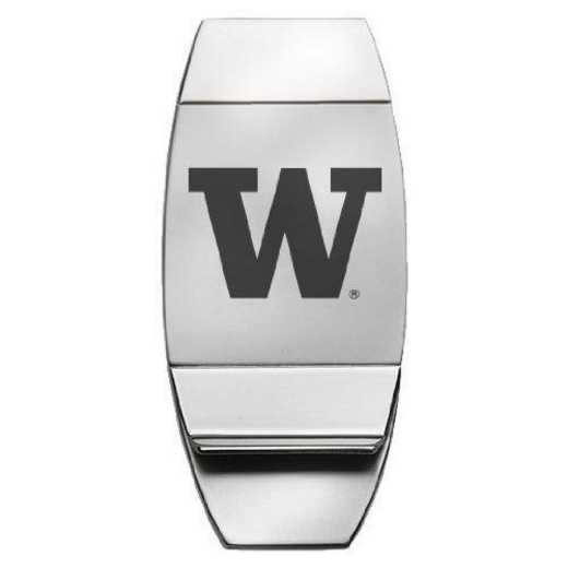 1145-UOFWASH-L1-CLC: LXG MONEY CLIP, Washington