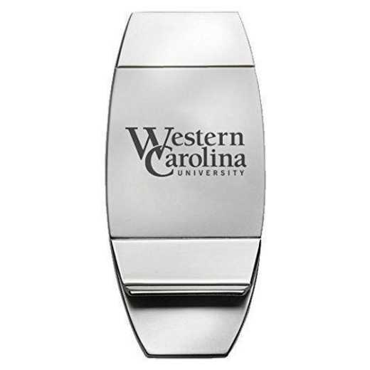 1145-WESTCARL-L1-LRG: LXG MONEY CLIP, Western Carolina
