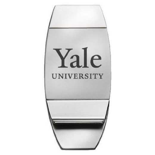 1145-YALE-L1-LRG: LXG MONEY CLIP, Yale
