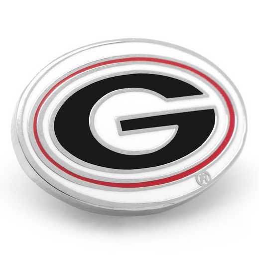 PD-GEO-LP: University of Georgia Bulldogs Lapel Pin