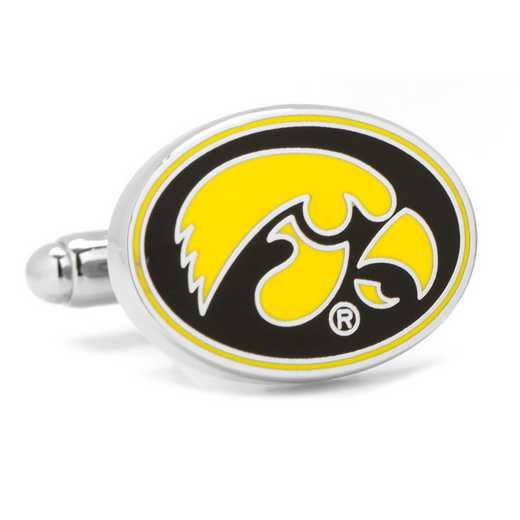 PD-IOW2-SL: University of Iowa Hawkeyes Cufflinks