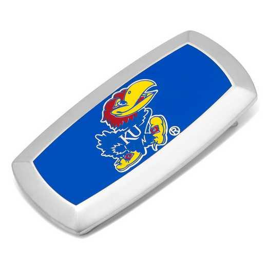 PD-KU-MC2: Kansas University Jayhawks Cushion Money Clip