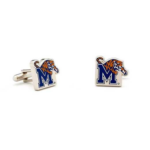 PD-MPT-SL: Memphis Tigers Cufflinks