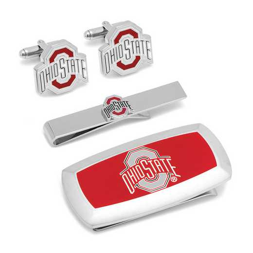 PD-OSU-3P2: Ohio State University 3-Piece Cushion Gift Set