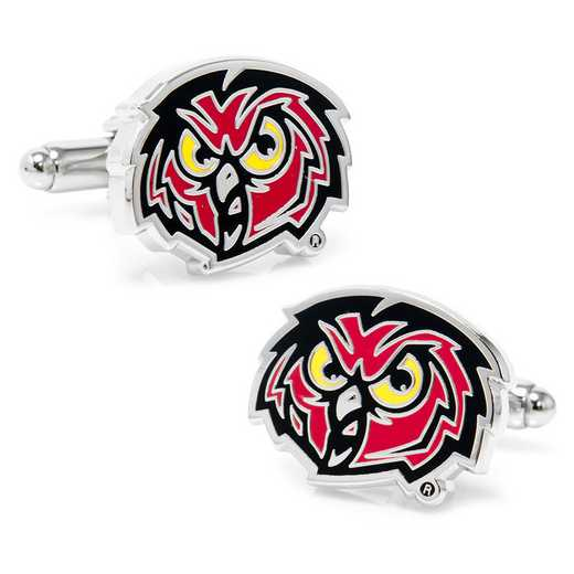 PD-OWLS-SL: Temple University Owls Cufflinks