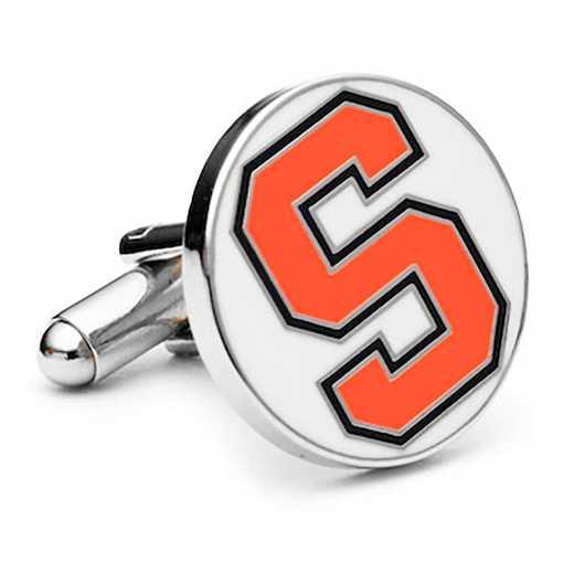 PD-SYR-SL: Syracuse University Orangemen Cufflinks