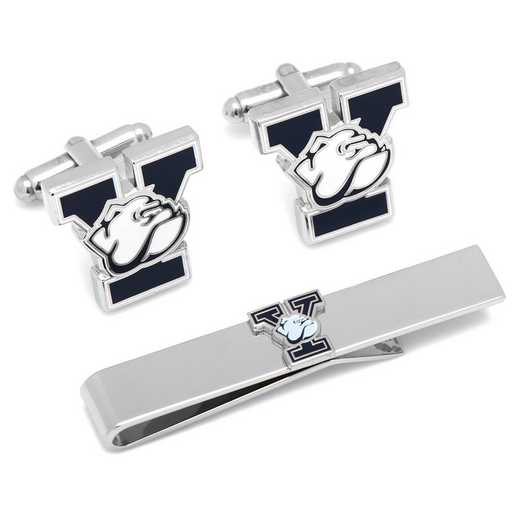 PD-YLE-CT: Yale University Bulldogs Cufflinks and Tie Bar Gift Set