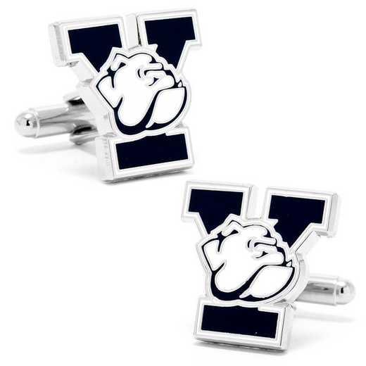 PD-YLE-SL: Yale University Bulldogs Cufflinks