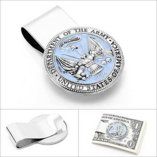 MC3153EB: Pewter U.S. Army Money Clip