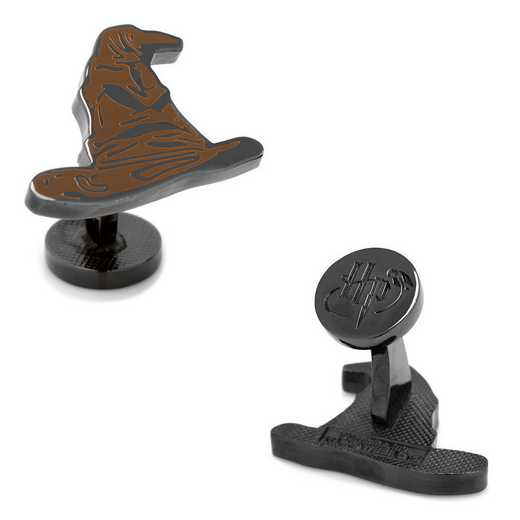 HP-SORT-BK: Sorting Hat Cufflinks