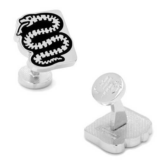 HP-SLSN-SL: Slytherin House Snake Cufflinks
