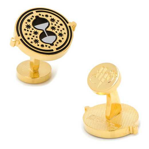 HP-TTRN-GL: Hermione's Time Turner Cufflinks