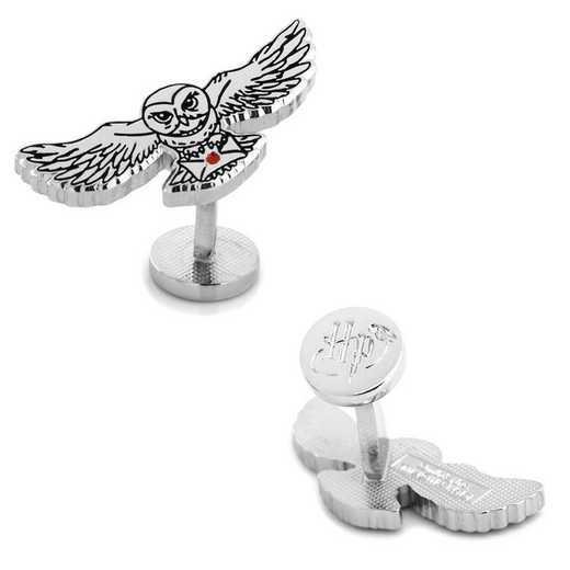 HP-HEDWIG-SL: Hedwig Owl Cufflinks