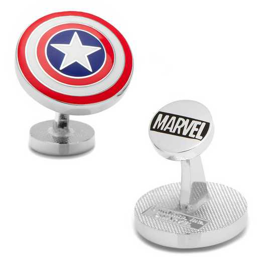 MV-CAS1-SL: Captain America Shield Cufflinks