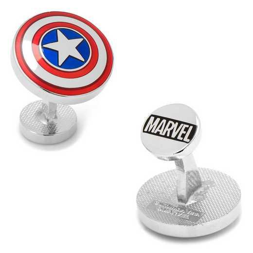 MV-CAS2-SL: Avengers Captain America Shield Cufflinks