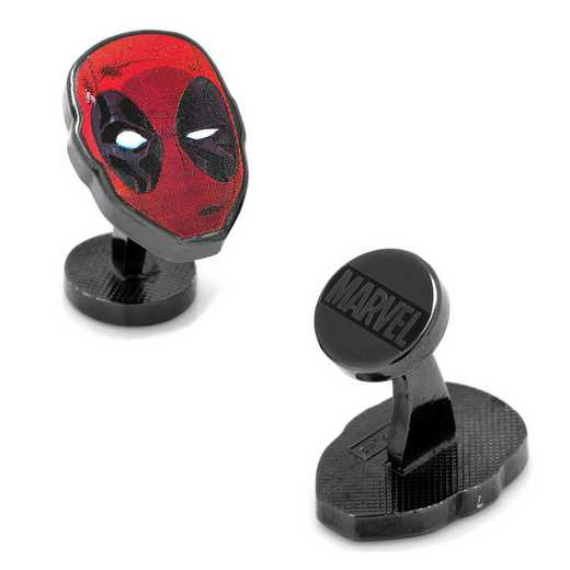 MV-DDPL-BK: Deadpool Mask Cufflinks