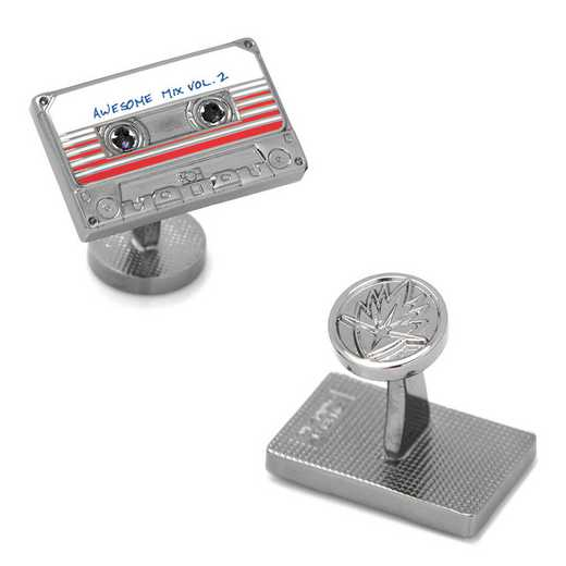 MV-MXTP-GM: Awesome Mix Tape No. 2 Cufflinks