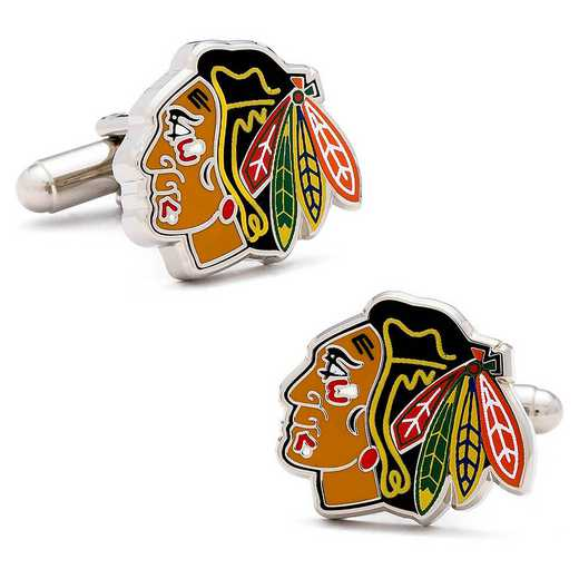 PD-BHK-SL: Chicago Blackhawks Cufflinks
