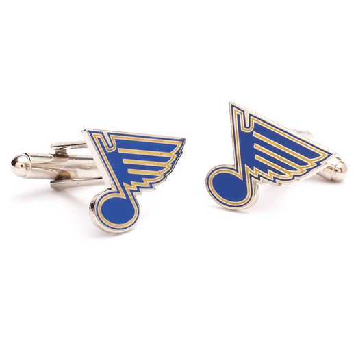 PD-BLU-SL: St. Louis Blues Cufflinks