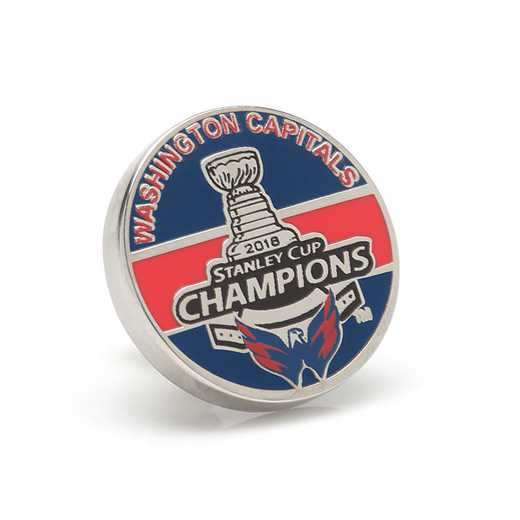 PD-CPT18-LP: 2018 Washington Capitals Stanley Cup Champions Lapel Pin