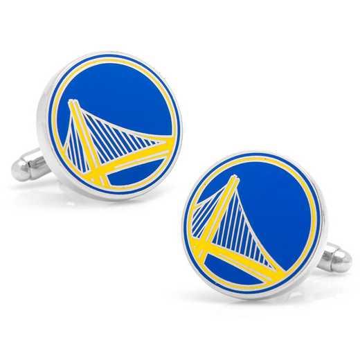 PD-GSW-SL: Golden State Warriors Cufflinks
