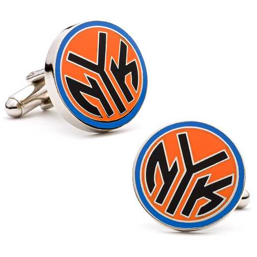 PD-NYN-SL: New York Knicks NYK Logo Cufflinks