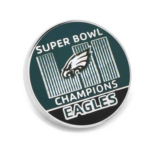 PD-PE18-LP: 2018 Philadelphia Eagles Super Bowl Champions Lapel Pin