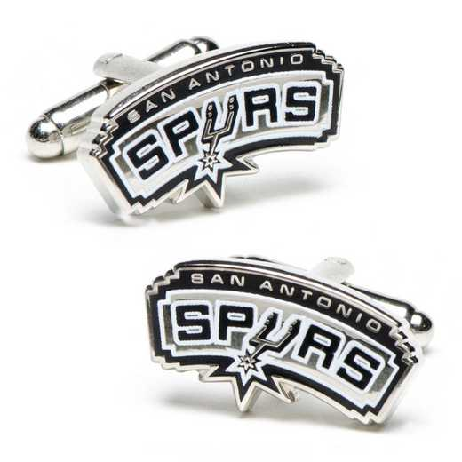 PD-SA-SL: San Antonio Spurs Cufflinks