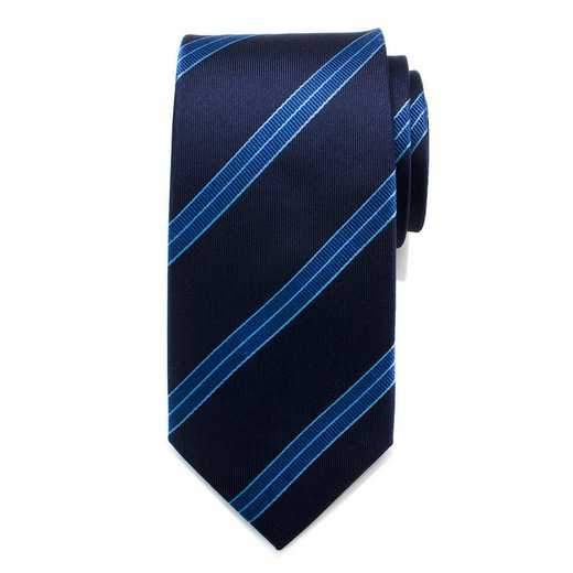 ST-ENTFL-BL-TR: Enterprise Flight Blue Stripe Men's Tie