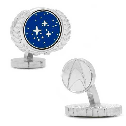 ST-UFP-SL: Star Trek UFP Cufflinks