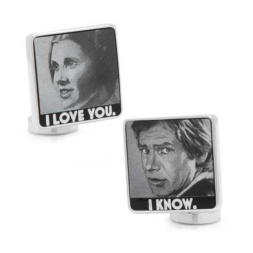 SW-ILYIK-SL: I Love You I Know Cufflinks