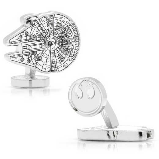 SW-MF-BP: Star Wars Millennium Falcon Blueprint Cufflinks