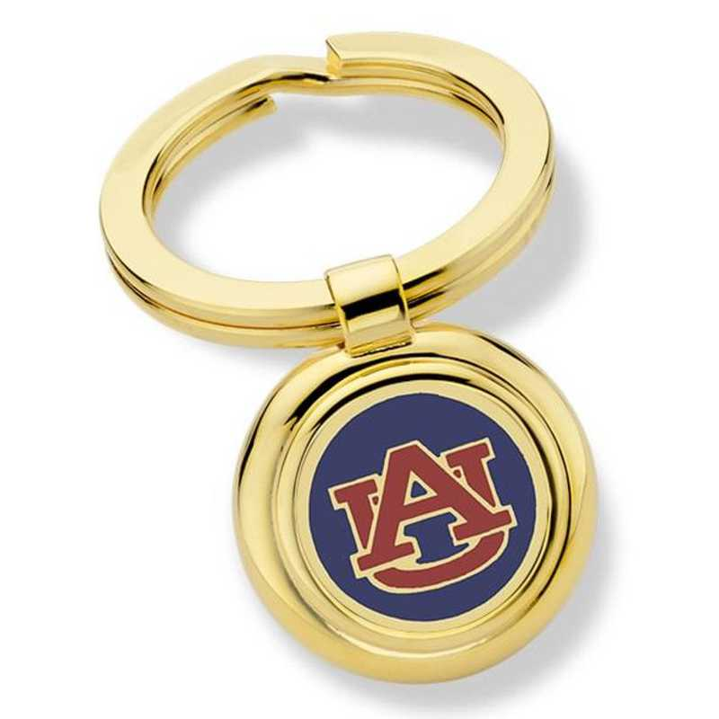 615789184027: Auburn University Key Ring by M.LaHart & Co.