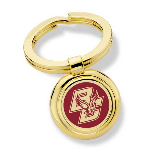 615789061533: Boston College Enamel Key Ring by M.LaHart & Co.