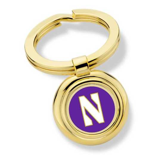 615789505624: Northwestern University Key Ring by M.LaHart & Co.