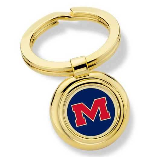 615789768456: Ole Miss Key Ring by M.LaHart & Co.