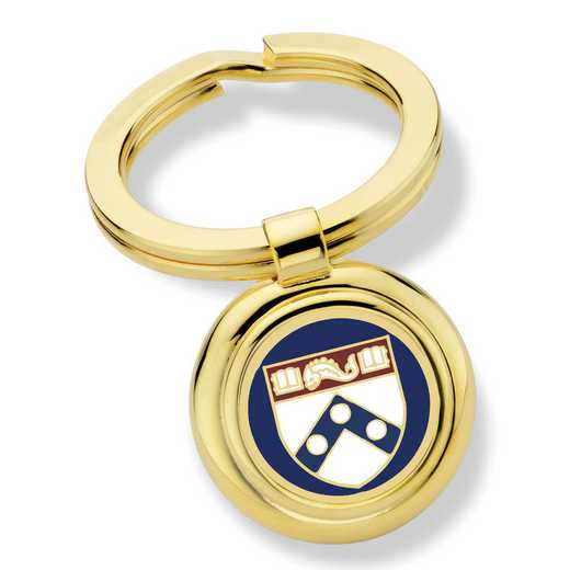 615789297314: University of Pennsylvania Key Ring by M.LaHart & Co.