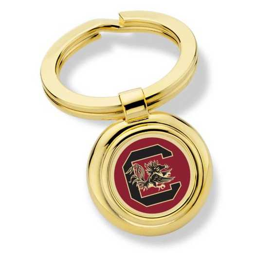 615789534457: University of South Carolina Key Ring by M.LaHart & Co.