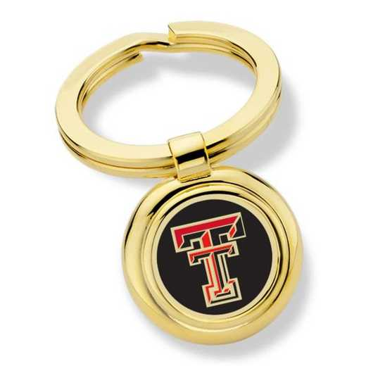 615789376811: Texas Tech Key Ring by M.LaHart & Co.