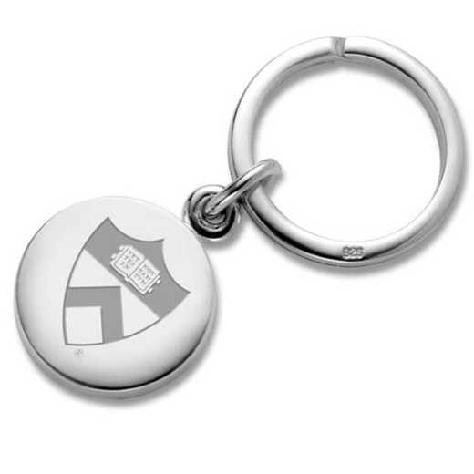 615789487609: Princeton Sterling Silver Insignia Key Ring