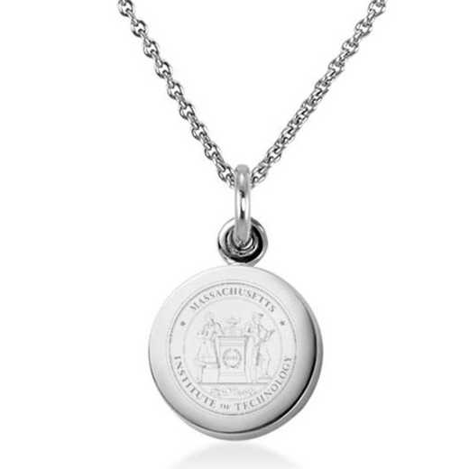 615789407935: MIT Necklace with Charm in SS