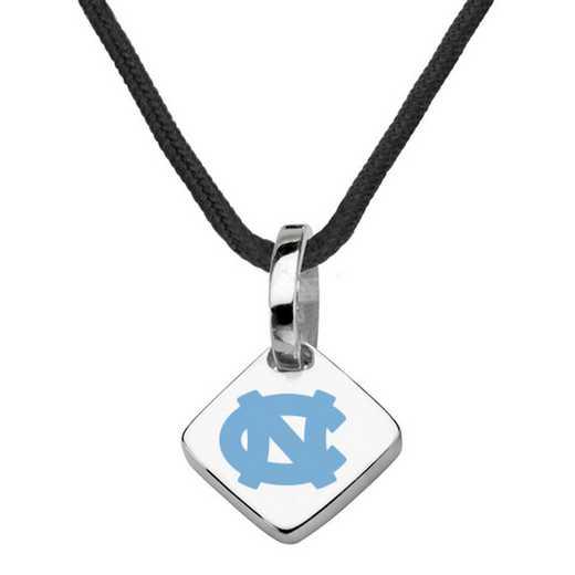 615789652724: University of North Carolina Silk Necklace with Charm