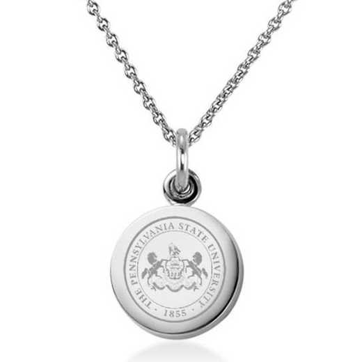 615789160113: Penn State University Necklace with Charm in SS