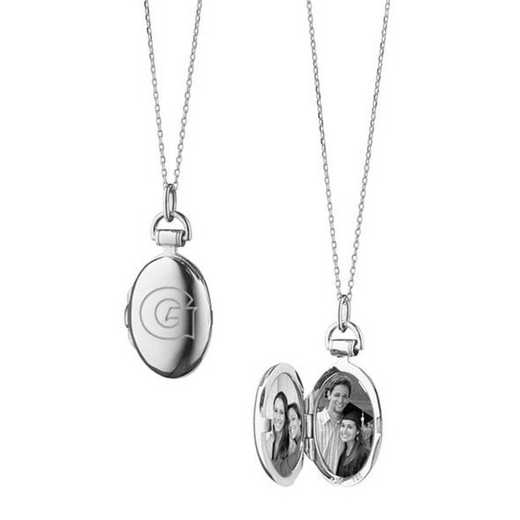 615789555926: Georgetown Monica Rich Kosann Petite Locket